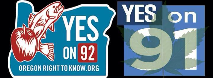 yes on 92 and yes on 91
