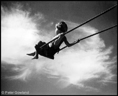 Boy on Swing Albertideation