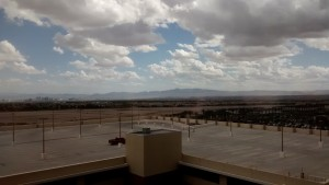 View from my amazing room at the Red Rock Resort