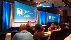 One of the opening sessions featured Richard Israel who leads the Solution Provider Program for Constant Contact