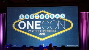 #OneCon2015 in Las Vegas - Constant Contact's annual convention for solution providers