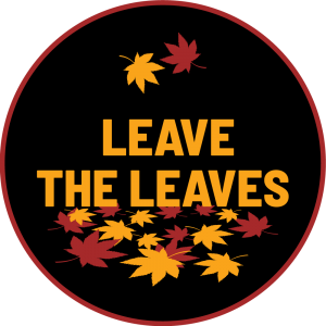 Leave the Leaves by DKG Graphics
