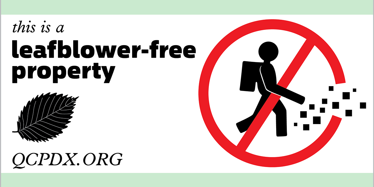 Leafblower-free property